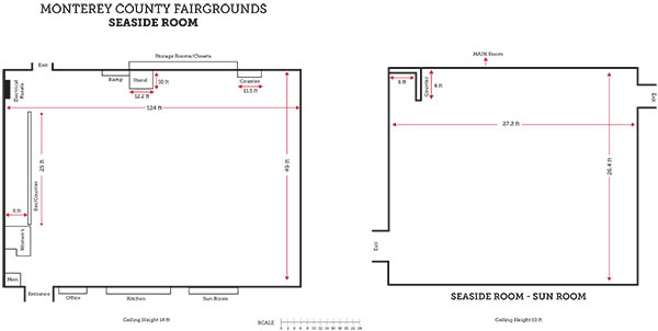 Seaside Room Floorplan