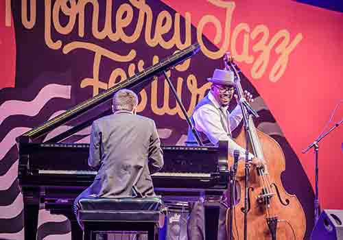 Monterey Jazz Festival at the Monterey County Fairgrounds