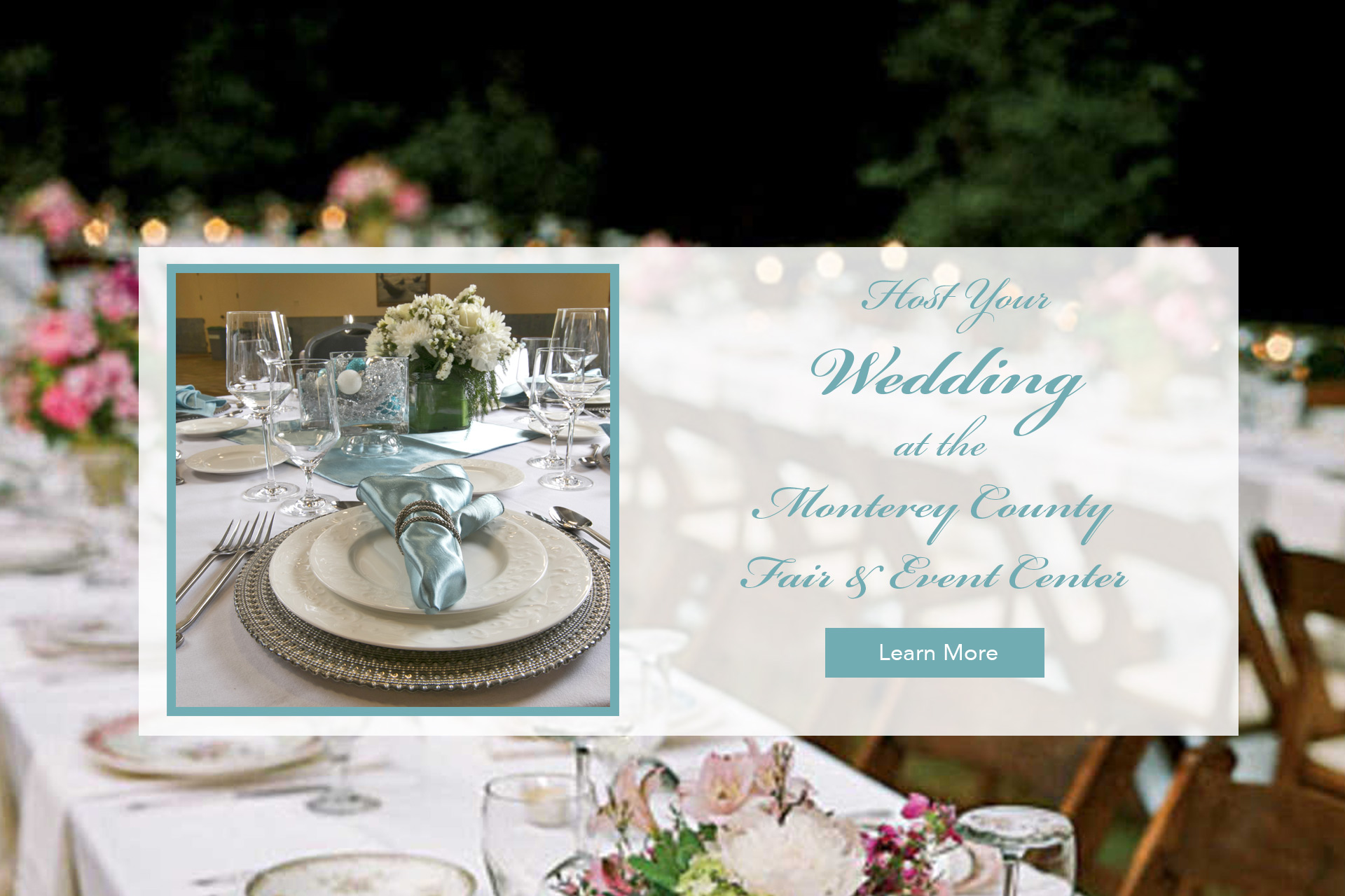 Weddings at the Monterey County Fair & Event Center