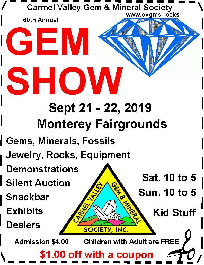 Carmel Valley Gem & Mineral Society