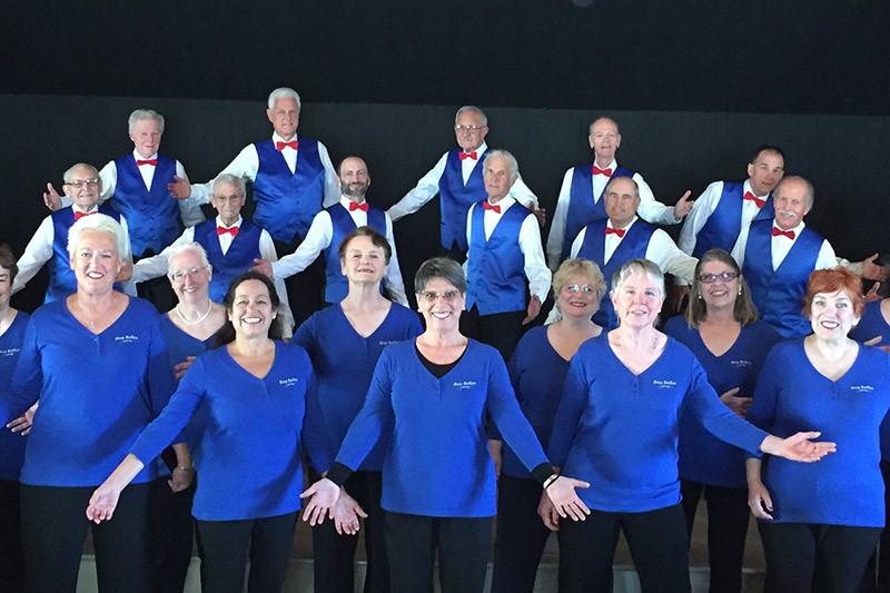 Cypressaires Men's Barbershop Chorus and the Bay Belles Women's Barbershop Chorus